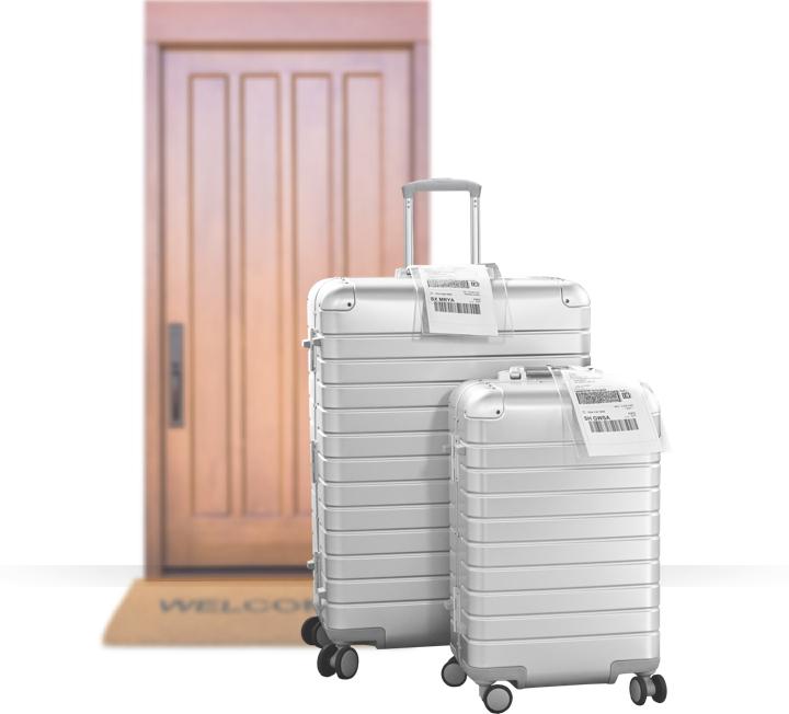 ship luggage worldwide