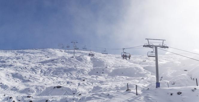 Treble Cone Ski Area.